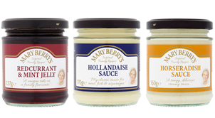 New Mary Berry's condiments