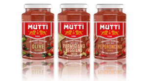 New pasta sauces from Mutti